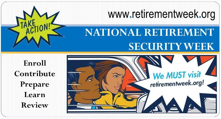 Take Action! It's Retirement Security Week!
